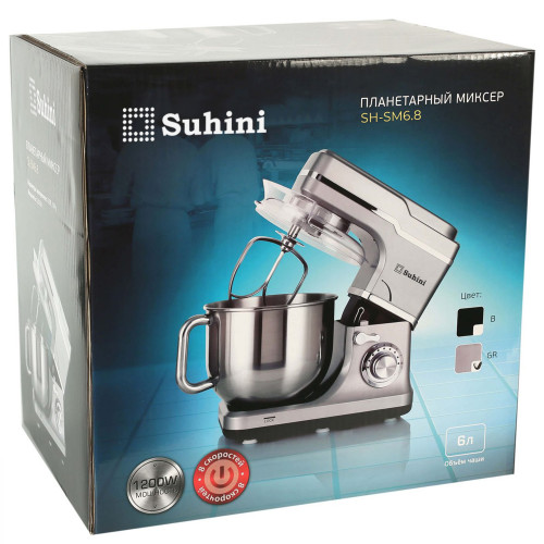 Планетарний міксер Suhini SH-SM6.8GR