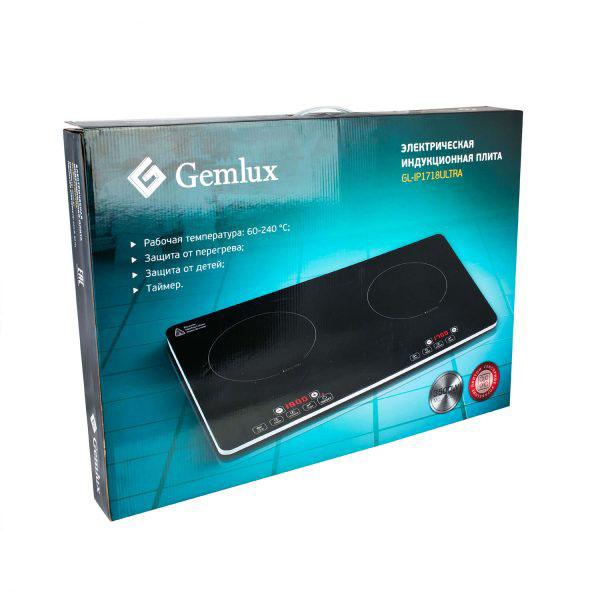 Плита индукционная GEMLUX GL-IP1718ULTRA